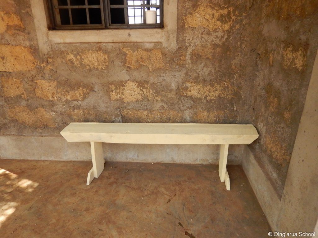 A finished bench