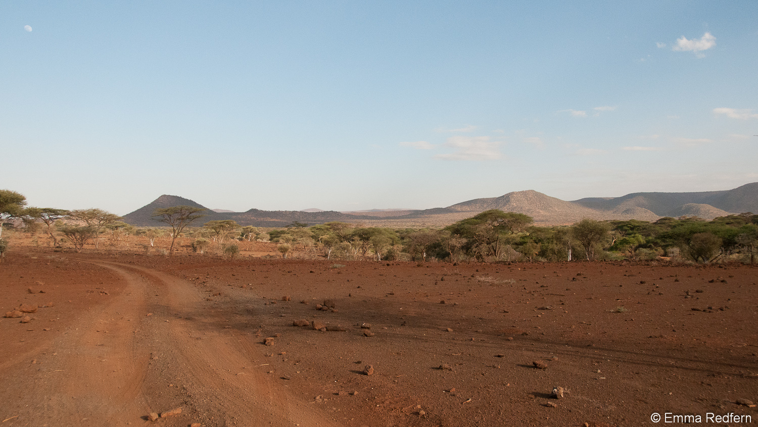 A barren land, over grazed and crippled by drought