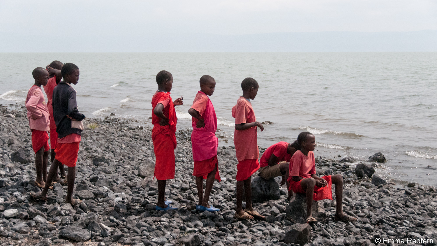 On the shores of Lake Turkana