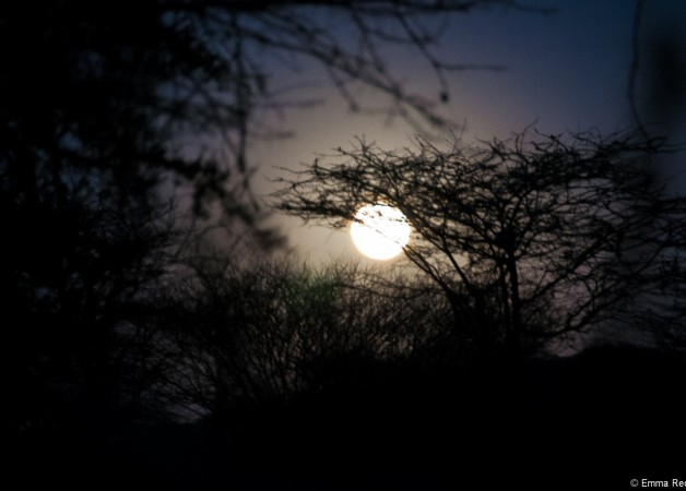 Full Moon over Olng'arua