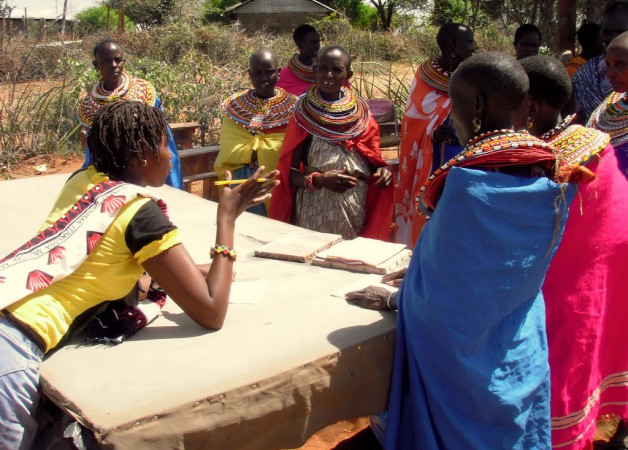 Pastoralist Women Make Elephant Dung Paper