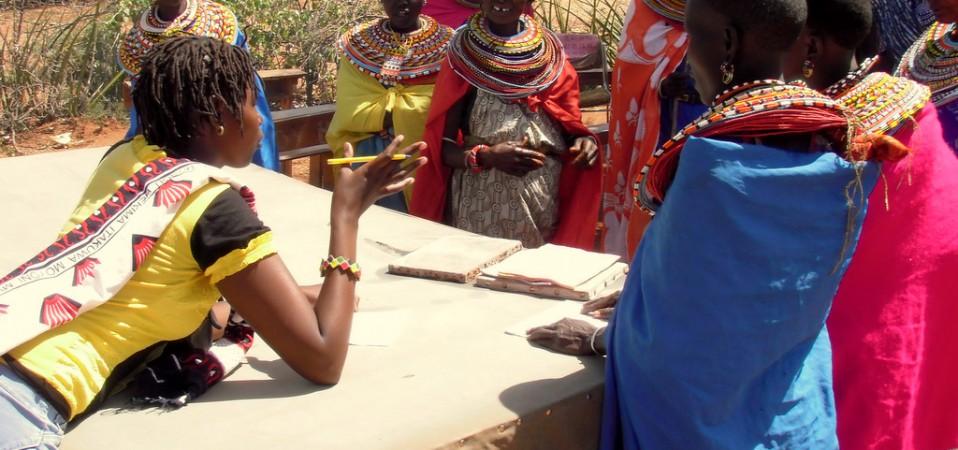 Pastoralist Women Make Elephant Dung Paper